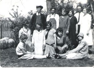 A photo of Lilly VanBrunt (Seated Right Front)