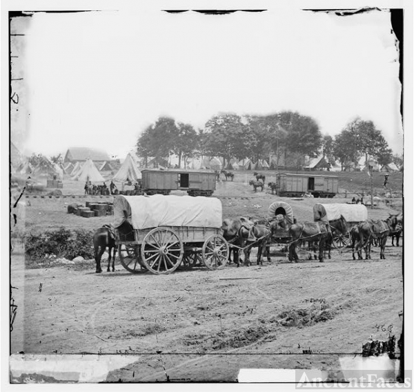 [Savage Station, Va. Headquarters of Gen. George B....