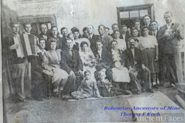 Durkalec family photo, Bohemia