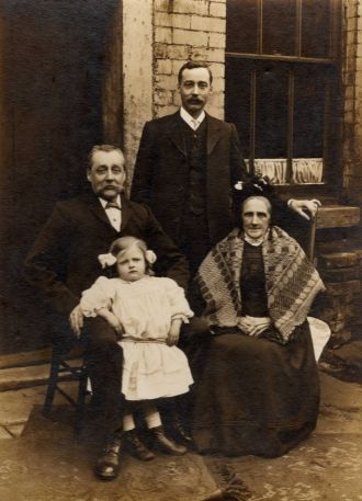 John, Thomas, Nora and Elizabeth Haworth