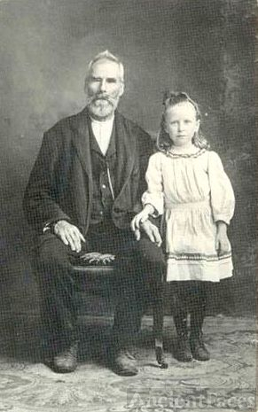William Marion Holt & granddaughter