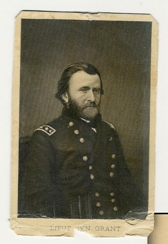 A photo of Lieutenant Grant