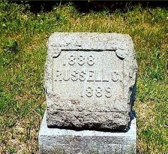 Headstone of Russell C. Tomb