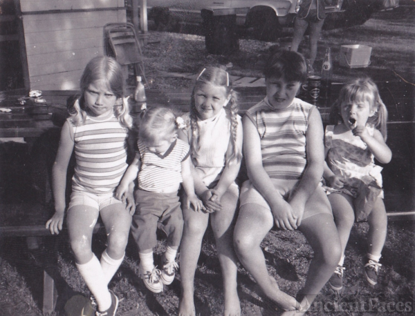Nagel cousins, IN, 1970