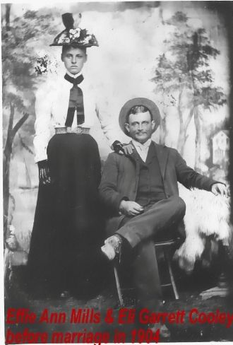 Eli Garrett and Effie Ann Mills Cooley