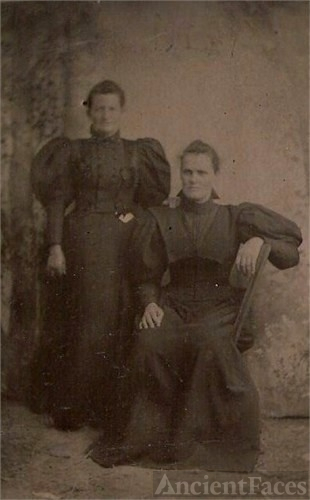 Rachel Hindsley Montague & Female Relative