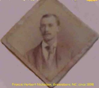 Francis Herbert Nicholson, North Carolina