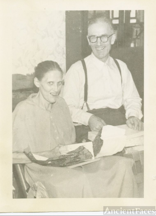 Roscoe Wolf and second wife Vera Harshman Wolf