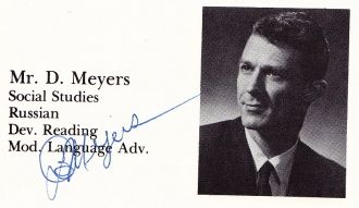 Mr. D. Meyers