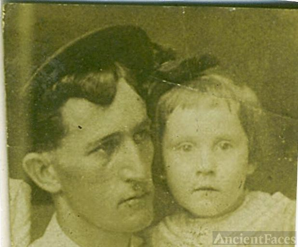John Carlisle Fox & daughter Lillian Francis Fox