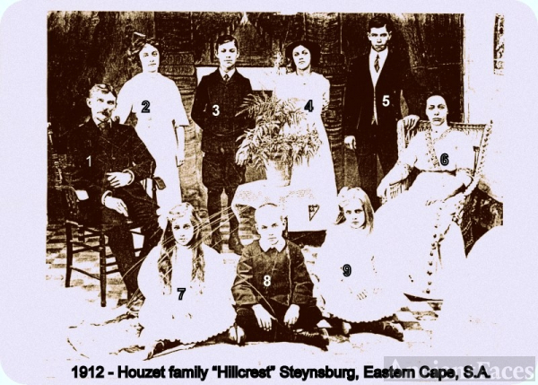 Houzet family, South Africa