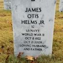James Otis Helms Jr gravesite