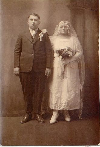 VanDel Wedding Day, 1919 WV