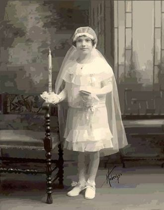 Vera VanWatermeulen, First Communion New York