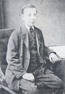 Young English Boy Seated