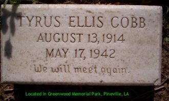 A photo of Tyrus Ellis Cobb