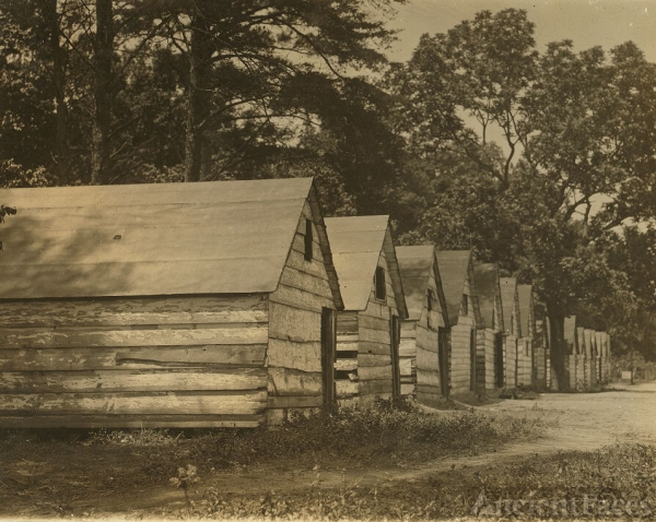 Col. J. J. Ross, Farm worker shacks
