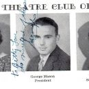 George Mason and 1932 Galileo High, Theatre Club Officers