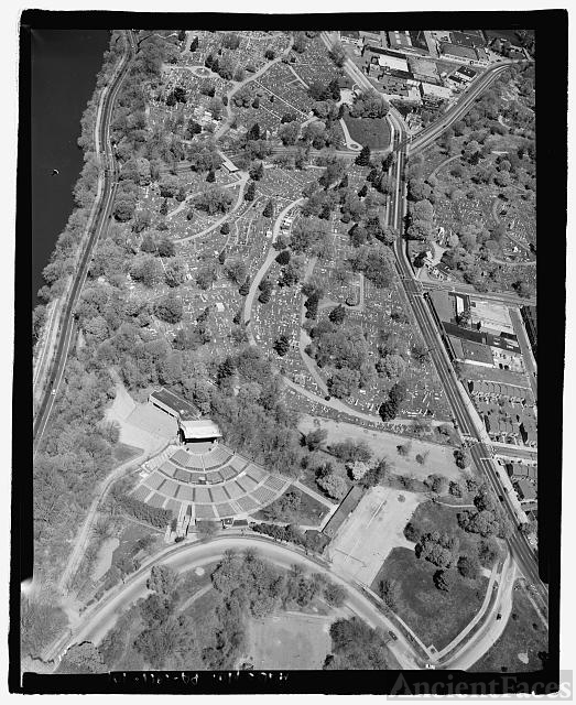 AERIAL VIEW. - Laurel Hill Cemetery, 3822 Ridge Avenue,...