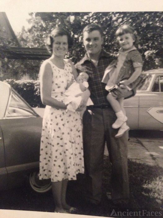 James B Budesheim family, 1950's