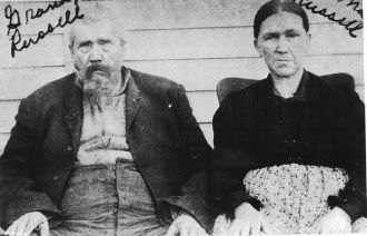GG Grandparents Russell;Ozark county MO