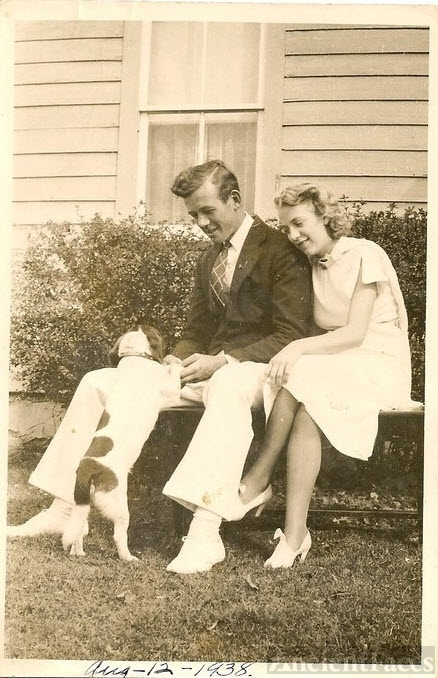 Charles and Jenny Gelatt, 1938