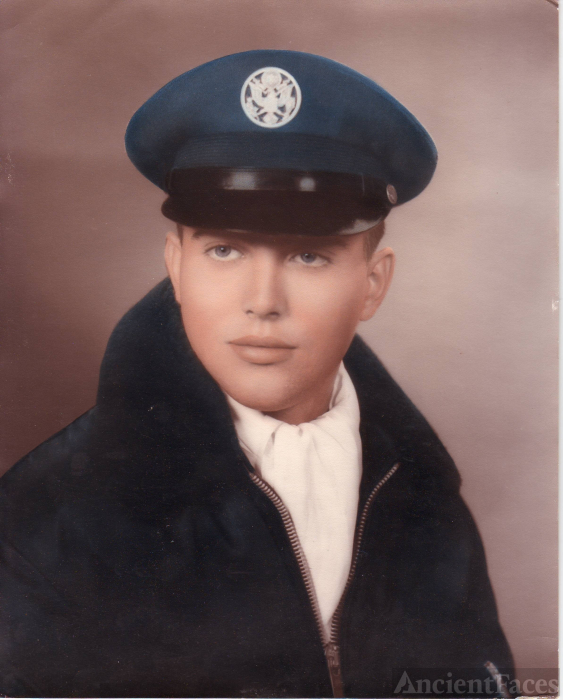 Larry James Bomstead, Air Force