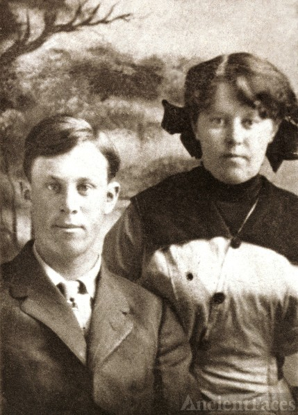 William Walter Bruner and sister
