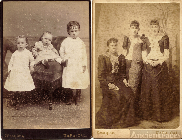 unknown children,  Bartow or White Family?