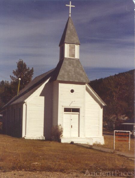 Catholic Church, Marysville Montana 1981