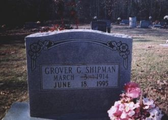 A photo of Grover Grady Shipman