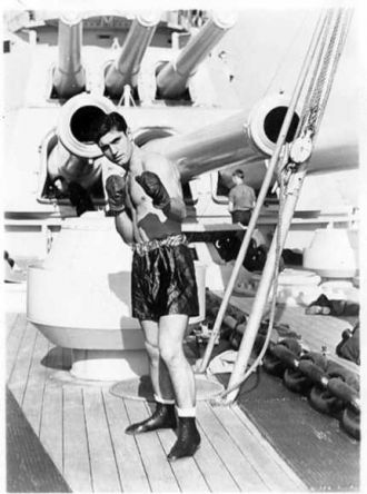 Frank Campanale, U. S. Navy, Battleships Group Champ