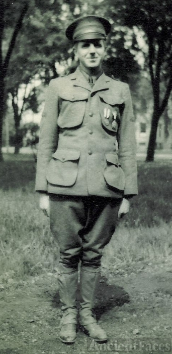 Ralph Dietz in Uniform