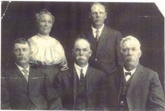 Some of the children of Jeffrey Dinsdale and Alice Rushton