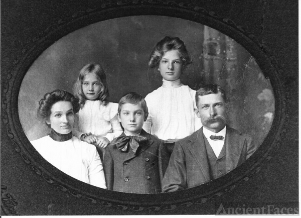 Charles Milton Fox and Family