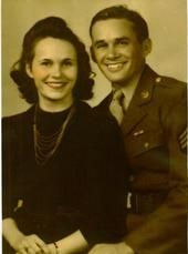 A photo of Gloria and Maurice Victor Newell