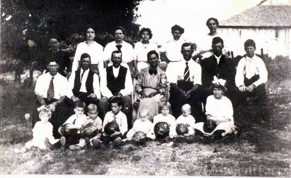 Hicks Family Farmington MO 1915