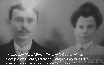 Anthony and Mary Kroczaloski