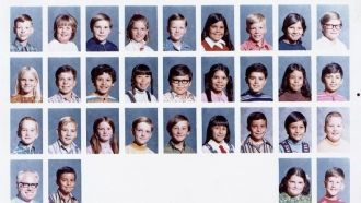 Maple School, Tulare, CA 4th Grade 1972-73