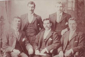 Knox brothers and cousins, Australia