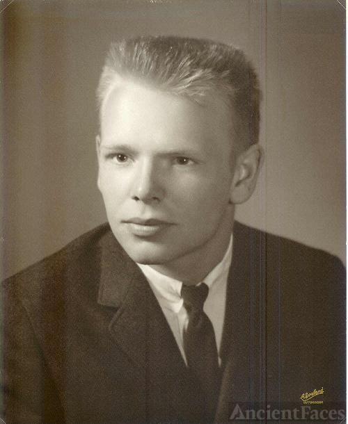 Dennis Edward Humiston, H. S. Graduation Picture