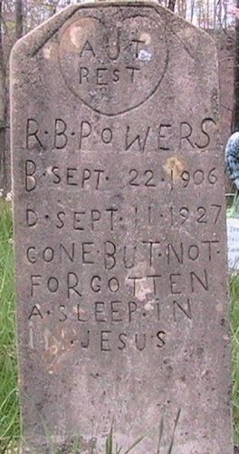 Robert Bruce Powers Gravesite