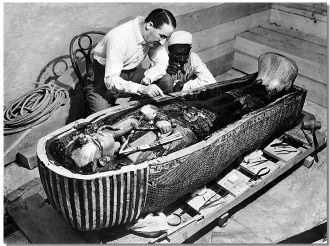 A photo of Howard Carter