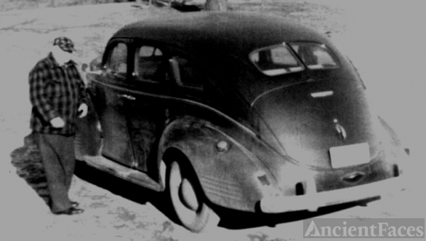 Grandpa Burkell and his 1939 Dodge