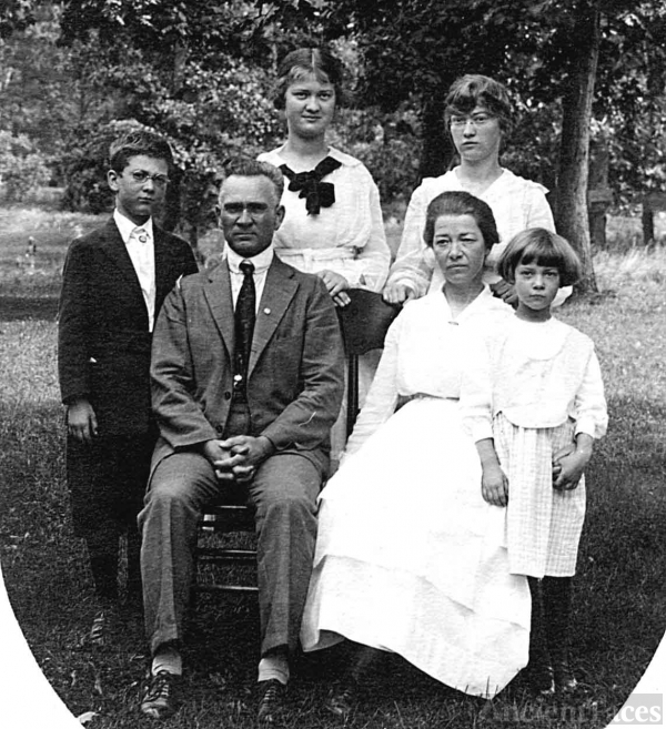 Family of Ellsworth & Gertrude Burch
