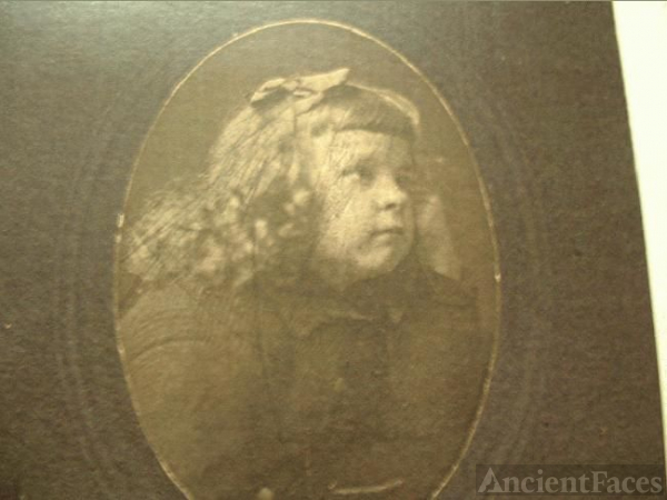 Ann/Anna Gates as a child