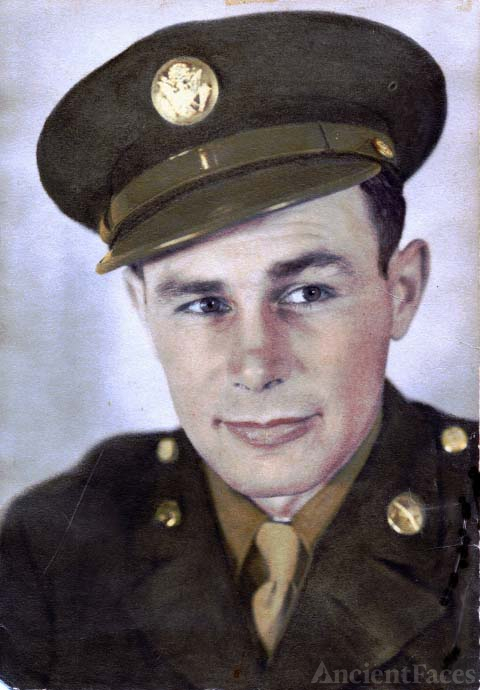 Leonard R. Utter served U. S. Army in North Africa and Italy