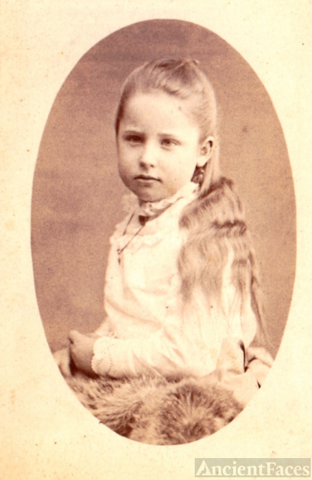 Young Girl Vintage Photo