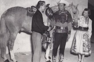 A photo of Roy Rogers