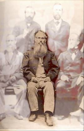 A photo of Samuel Lapham Hill